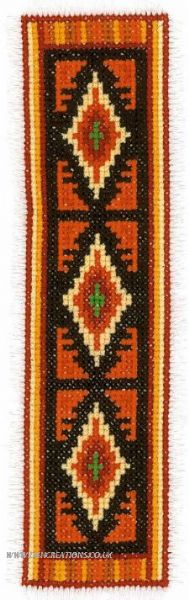 Diamond Bookmark Cross Stitch Kit